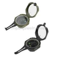 High Precision Magnetic Pocket Transit Geological Lensatic Compass Outdoor Tool