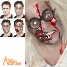 Zombie Make Up Kit Halloween Horror Face Paint FX Fancy Dress Accessory New