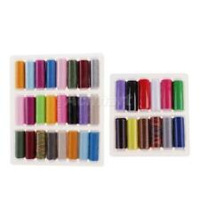 Boxed Spools Mixed Color 100% Polyester Sewing Thread Multi-Purpose Hand Machine