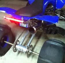 New LED Grab Bar for Yamaha YFZ450 / New grab bar with a  built in LED light