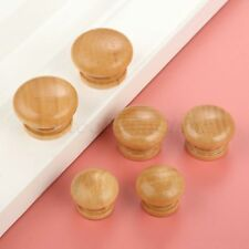 10pcs Hot Retro Wood Door Pull Handles Furniture Cupboard Drawer Cabinet Knobs