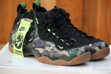 NIKE AIR FOAMPOSITE PRO CAMO PRM LE PREMIUM FOREST/BLACK MEN'S 10.5 [587547-300]