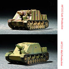 Trumpeter 07211 07212 1/72 Scale German Brummbar Mid/Late Production Armor Model