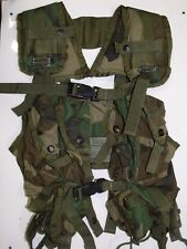 Tactical Load Bearing Vest LBV Woodland Camouflage US Military Not Enhanced
