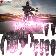 Pro Motorcycle Body Protector Full Body Armor Spine Chest Protective Jacket Gear
