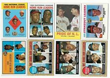 2001 Topps Archives League Leaders/Multi-Player Subset Single Cards LL Reprints