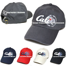 Cali California Embroidered Hat Baseball Cap Polo Style Cotton Dad Golf Hats cap