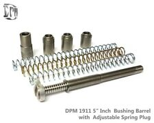 """DPM Recoil Reduction Spring System 1911 5"""" (Bushing ONLY) 9mm 40S&W .45 ACP New"""