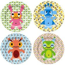 NEW French Bull monster plate by Until