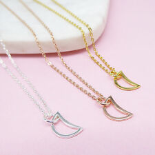 NEW Crescent Moon Necklace (various colours) Women's by Correy & Lyon