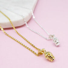 NEW Skull Pendant Necklace (Various Colours) Women's by Correy & Lyon