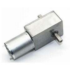 Various High Torque Turbo Worm Electrical Speed Reducer DC Gear Motor 6V