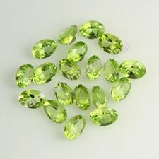 3x4 mm to 8x10 MM NATURAL PERIDOT GREEN COLOR OVAL CUT LOOSE GEMSTONE