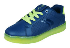 Geox J Kommodor B.B Boys Sneakers / Casual Shoes - Navy and Lime