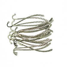 10/20pcs Charms Antique Silver Alloy Bookmarks Beading DIY Findings Crafts