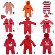 Infant Baby Boys Girls Warm Jumpsuit Romper Halloween Bodysuit Outfits Costume