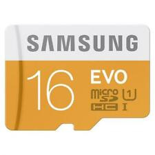 For AT&T PHONES - SAMSUNG EVO 16GB MICROSD MEMORY CARD HIGH SPEED CLASS 10