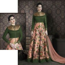 BOLLYWOOD ANARKALI SALWAR KAMEEZ DESIGNER PAKISTANI ETHNIC INDIAN SALWAR SUIT