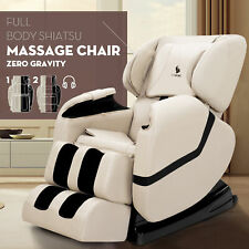 Full Body Shiatsu Recliner Electric Massage Chair Zero Gravity w/Heat Foot Rest