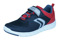 Geox J Xunday B B Boys Sneakers / Casual Sports Shoes - Black and Red