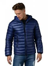 CP Company Jacket - Mens 061A D.D. Shell Lightweight Down Goggle Jacket in Blue
