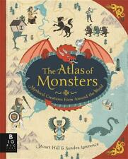 Atlas of Monsters by Sandra Lawrence Hardcover Book