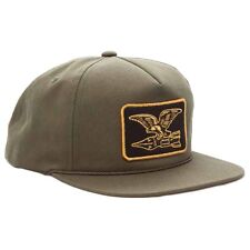 Obey 'Squadron' Snapback Cap OLIVE,100% AUTHENTIC OBEY CLOTHING,BNWT,SHIP VIA UK