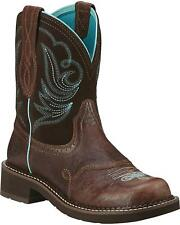 Ariat Fatbaby Heritage Dapper Cowgirl Boot - Round Toe - 10016238