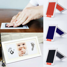 New Creative Baby Clean Inkless Touch Ink Pad Toddler Safe Non-Toxic Footprint