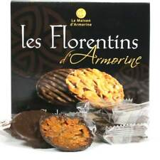 Maison Armorine - Chocolate Florentine Biscuits 8pc Tray (France)