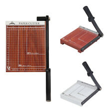 NEW Guillotine Manual Paper Trimmer Table Top Cutter Heavy Duty