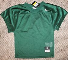 New! Boys Nike Core Football Mesh Practice Jersey (Green; Game Day) - Small 8