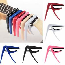 Quick Release Trigger Capo Clamp Plastic for Acoustic Electric Guitar Ukulele