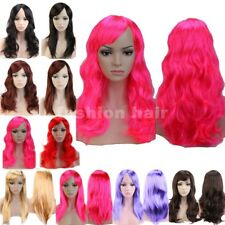 Big Sale Long Cosplay Hair Wig Anime Costume Full Wig Synthetic Women Party #Gla