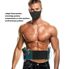 Stealth Gun Belt Belly Band Holster Concealed Carry with Two Gun Pistol Holster