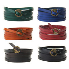 Multilayer Fashion Leather Bracelet Bangle Vintage Cuff Wrap Punk Jewelry