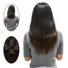Full Head Remy Clip In Human Hair Extensions Straight Real Human Hair 10pcs/set