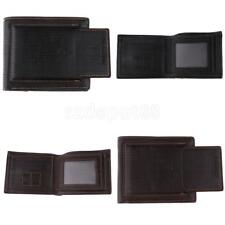 Retro Men's Short Wallet PU Leather Credit Card Cash Coin ID Wallet Purse
