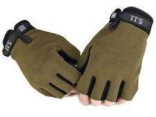 Fingerless Gloves Sports  Fashion Motorcycle Assult  Mittens Antiskid Bicycle