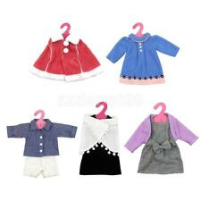 18inch Dolls' Clothes Winter Dress Up Clothing Hanger Set for American Girl Doll