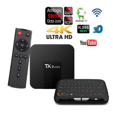 Android 7.1 TX3 Mini Quad-Core Amlogic S905W TV Box+Touchpad Wireless Keyboard