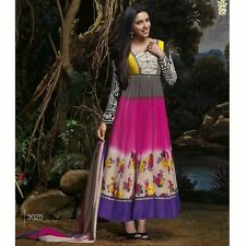 ANARKALI SALWAR KAMEEZ INDIAN DESIGNER BOLLYWOOD PAKISTANI WEDDING SALWAR SUIT