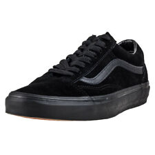 Vans Old Skool Wmns Black Suede Casual Trainers Lace-up Genuine Shoes