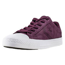 Converse Star Player Ox Dark Sangria Mens Trainers Burgundy New Shoes