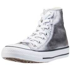 Converse Chuck Taylor All Star Hi Womens Trainers Gunmetal Black New Shoes