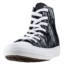 Converse Chuck Taylor All Star Hi Womens Trainers White Black New Shoes