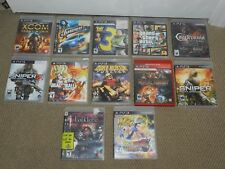 NICE SELECTION Sony Playstation 3 PS3 Games - U Choose One Good Titles