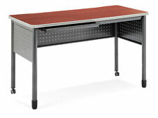 Office School Hospital Mesa Series Mobile Standing Height Desk with Drawers
