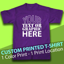 Personalized Custom T-Shirt, Printed with Your Text or Graphic