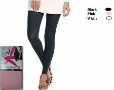 Hanes Womens Footless Legging Tight Pink Bouquet / Black or White SZ S,M